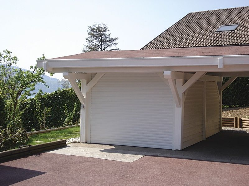 Porte enroulable motoris e caisson 300 x 300 mm sur mesure for Porte de garage enroulable isolante