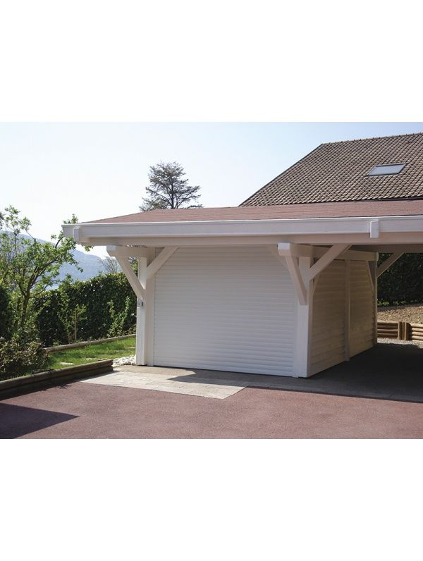 Porte enroulable motoris e caisson 300 x 300 mm sur mesure for Porte de garage enroulable la toulousaine